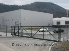 Cancelli scorrevoli 2 - porta impianti industriali, cancelli guidato elettrico