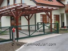 Cancelli scorrevoli 1 - porta abitazioni privati, tetto garage posto auto, cancelli guidato elettrico