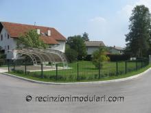 Recinzioni modulari 3 - abitazioni privati, giardino e casa