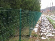 Recinzione del reticolato 3 - filo metallico, campo